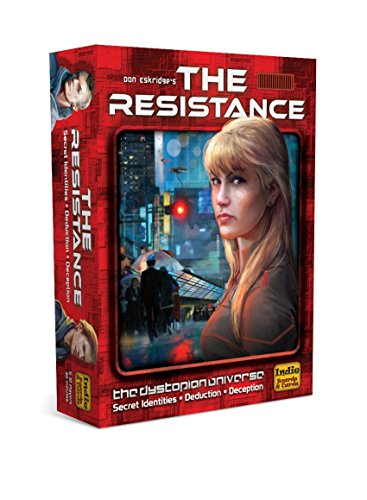 The Resistance RES2IBC Board Game