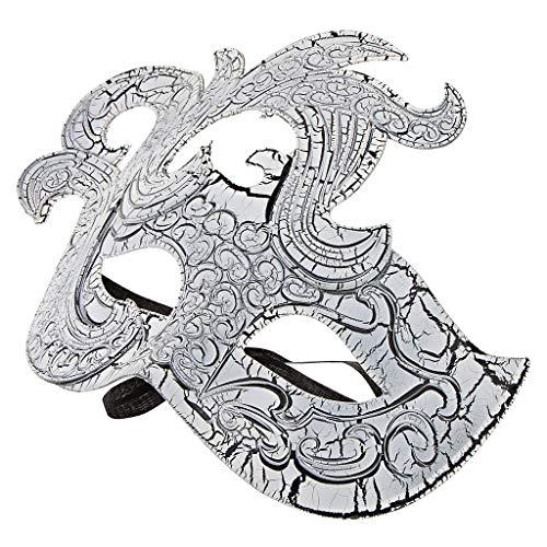 Fenteer Kunststoff Venezianische Augenmaske Maskerade/Masquerade Maske, Einheitsgröße für -