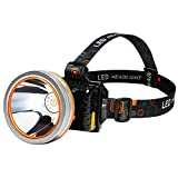 ERHANG Led Waterproof Headlights Light Super Bright Rechargeable Head Mounted Outdoor Headlights 3000 Meters Night Fishing Miner