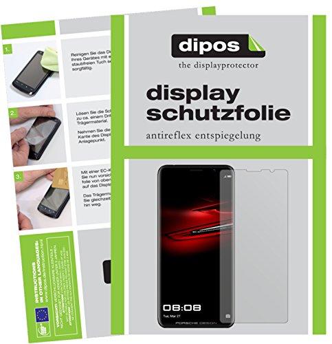 dipos I 6X Schutzfolie matt passend für Huawei Mate RS Porsche Design Folie Displayschutzfolie