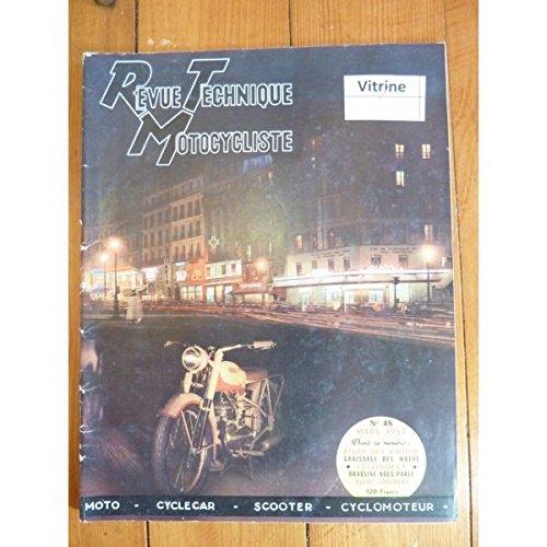 Revue Technique Motocycliste, n° 48 : Etude des Radior et Velosolex, Moto, Scoter, Cyclomoteur, mars 1952 par Ouvrage Collectif