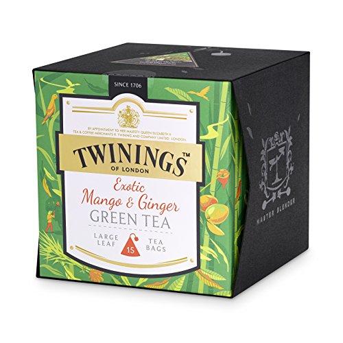 Twinings Exotic Mango y té de jengibre verde