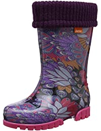 Toughees Shoes Character Welly With Removable Sock, Work Wellingtons mixte enfant