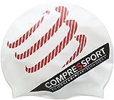 Compressport GNBCS - Gorro de natación Unisex, Color Blanco, Talla única