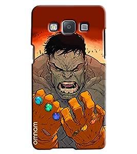 Omnam Hulk Man Annoying Printed Designer Back Cover Case For Samsung Galaxy A7