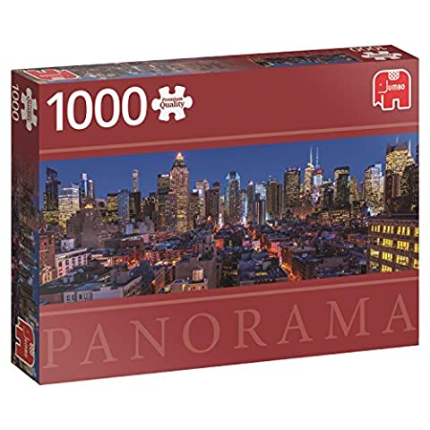 Jumbo Jumbo Premium Puzzle Collection 'New York Skyline' 1,000 Piece Panoramic Jigsaw Puzzle