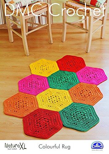 DMC Crochet cadorabo - Alfombra adaipt 15236L/2