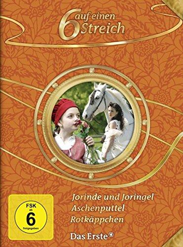 6 auf einen Streich - Märchen-Box Vol. 8 : Aschenputtel/Jorinde und Joringel/Rotkäppchen [3 DVDs] (Kostüm Streich)