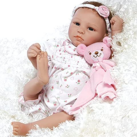 Paradise Galleries Lifelike & Realistic Newborn Baby Doll - Bundle of Joy, 20-inch / 50 Centimeters Weighted Baby in GentleTouch Vinyl