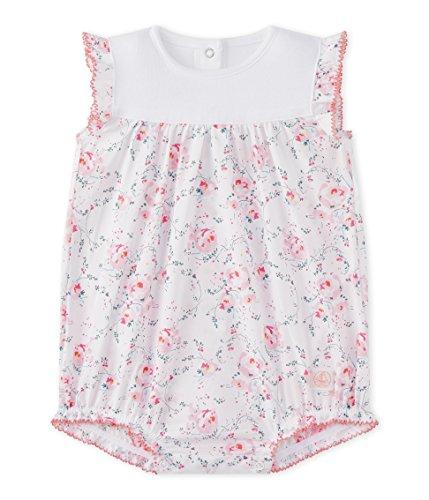 Petit Bateau Baby-Mädchen Spieler COMBICOURT 27207 Mehrfarbig (Ecume/Multico 37) 68 (Herstellergröße: 6m/67cm)