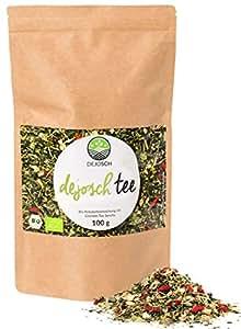 Bio Dejosch Tee - unterstützt 14 Tage natürlich und effektiv dein Ziel zu erreichen - ohne Zusatzstoffe und zuckerfrei - Kräuterteemischung - Hergestellt in Deutschland - 100 Gramm