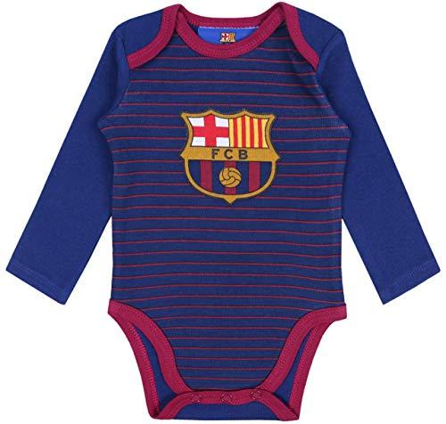 sarcia.eu marineblauer FC Barcelona Baby-Body 6 Monate