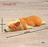 Cinlla Harz Kühlschrankmagnete Welsh Corgi Hund Kühlschrankmagnete Büro Magnete für Lustig-Dekor Dekor Auto Dekor Kühlschrank-Dekor _Grovel05