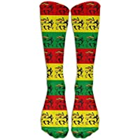 JAONGSADY Compression Socks Cute Fish Novelty Sport Running Tube Socks,1 Pair High Long Soccer Socks Calze Abbigliamento sportivo