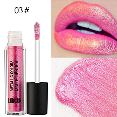 12 Colores Profesional Labial Mate Pintalabios Permanente de Maquillaje Larga Duracion para Niñas por ESAILQ D