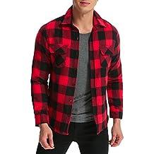 online store a9c06 1e228 Amazon.it: camicia a quadri uomo - Spedizione gratuita via ...