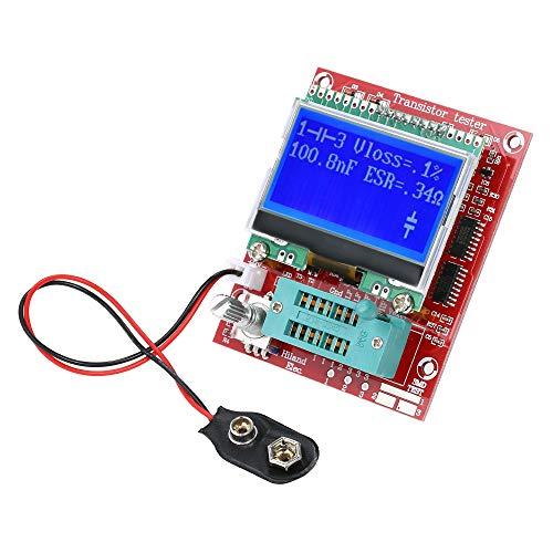 KKmoon Multifunktionale Transistor Tester 【LCR Widerstand Induktivität Diode Kapazität ESR Frequenz Meter PWM Square Wave Signal Generator】 -