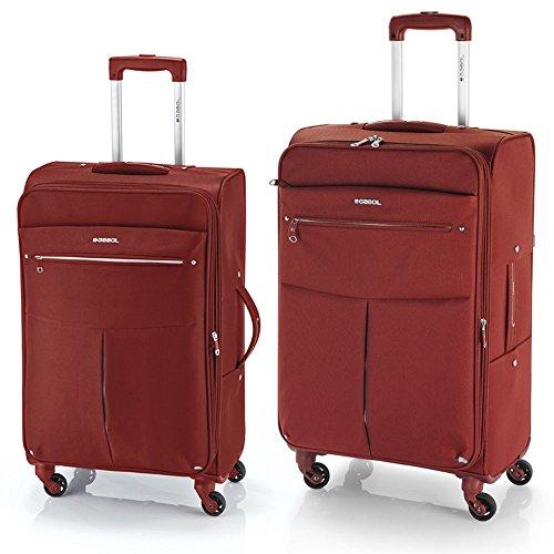Gabol daisy juego de 2 maletas: mediana y grande