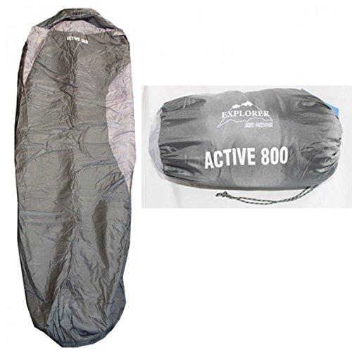 EXPLORER Mumien Schlafsack Active 800 Camping Zelten Ur… | 04250360278373