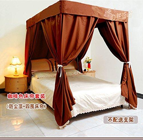 Eine Klimaanlage Bett Vorhang Home Wind Staub Schattierung Volltonfarbe  Moskitonetz Abdeckung.