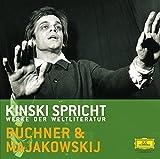 Kinski spricht Buechner und Majakowskij