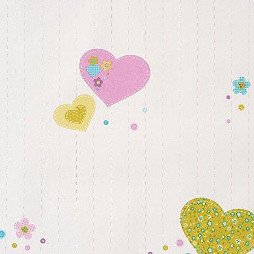 caselio-girl-only-61956075-carta-da-parati-con-motivo-patchwork-su-fondo-bianco-e-in-cuori-rosa-blu-