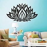 Vinyl Aufkleber Blume Zimmer Abnehmbare Aufkleber Dekor Hause Wasserdichte Tapete Design Poster 56X33 cm