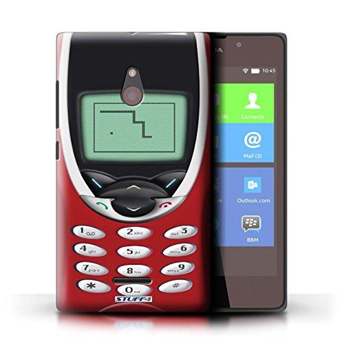 Kobalt® Imprimé Etui / Coque pour Nokia XL / Nokia 8210 vert conception / Série Portables rétro Nokia 8210 rouge