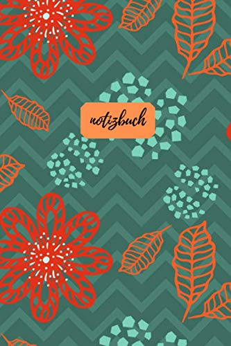Notizbuch: Punktraster A5 Granatapfel Türkis Heft für Notizen Lettering Skizzen | Dot Grid Journal | Gepunktetes Tagebuch 120 Seiten mit Punktpapier