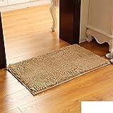 Haushalt Fußmatten Am Eingang,Schlafzimmer Wohnzimmer Fußmatte,Bad Bad Wasserabsorbierenden Anti-rutsch-fuß-pads,Küche Matten-F 100x150cm(39x59inch)