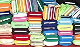 Stoffpaket Jersey Baumwolljersey Restepaket Uni einfarbig