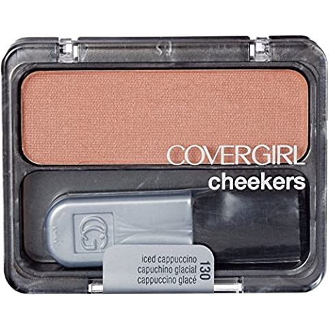 CoverGirl Cheekers Blush, Iced Cappuccino 130, 0.12-Ounce by