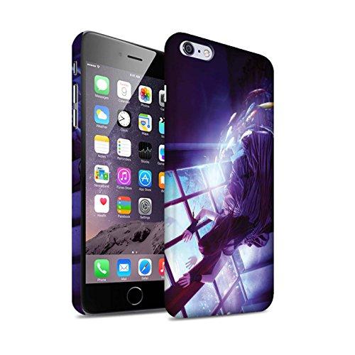 Officiel Elena Dudina Coque / Clipser Matte Etui pour Apple iPhone 6S+/Plus / Sonrisas/Dauphin Design / Agua de Vida Collection Laisse Moi Entrer