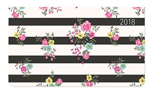 Preisvergleich Produktbild Ladytimer Pad Little Roses 2018 - Taschenplaner / Taschenkalender quer (16 x 9) - Weekly - 128 Seiten