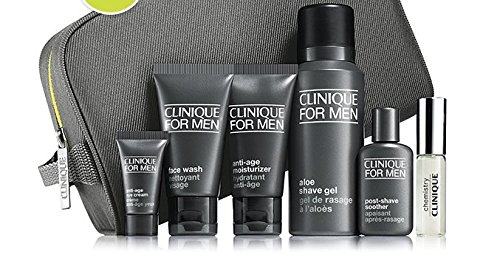 clinique-for-men-gift-set-face-wash-moisturiser-shave-gel-eye-cream-post-shave-soother-cologne-and-t