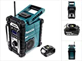 Makita DMR 110 Digital Baustellen Radio DAB+ + 1x BL 1830 3,0 Ah Akku - ohne Ladegerät