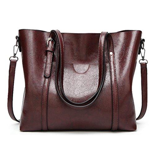 b6d7b8a3fecf ALARION Womens Handbags Ladies Designer PU Leather Handbags Shoulder Bag  Tote