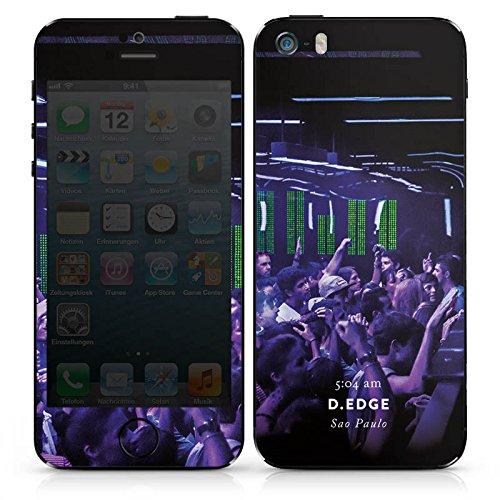 Apple iPhone 4s Case Skin Sticker aus Vinyl-Folie Aufkleber Club House Techno DesignSkins® glänzend