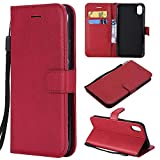 BoxTii Coque iPhone XR, Etui en Cuir Flip Portefeuille Housse de Protection avec...