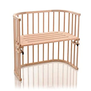 cunas adosadas: Babybay Original - Cuna adosada con ventilación extra, color madera natural