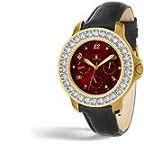 ASTBOERG  Royal Diamond Damen Uhr Rot AT406R