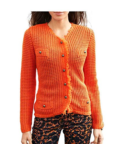 Travel Couture by Heine - Gilet - Opaque - Femme Orange Orange Orange - Orange