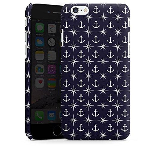 Apple iPhone X Silikon Hülle Case Schutzhülle Anker Kompass Muster Premium Case matt