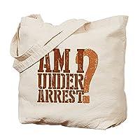 CafePress - Breaking Bad: Am I Under Arrest Tote Bag - Natural Canvas Tote Bag, Cloth Shopping Bag