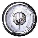 Barometer, Echtholz schwarz, Ø 170 mm