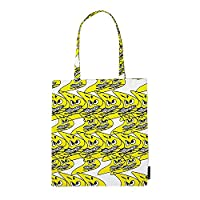 Tote Bag Carrier Bag returned item (like new/single item) - yellow/37x42cm/Design: Bernhard Wilhelm