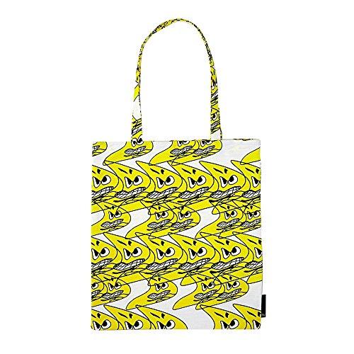 Tote Bag Tragetasche, gelb 37x42cm Design: Bernhard Wilhelm