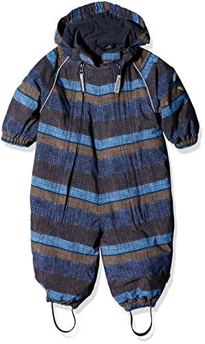 mikk-line Baby-Jungen Schneeanzug 12120, Mehrfarbig (Blue Nights 287), 92