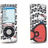 Hello Kitty IPHKC2RED14G Etui de protection pour ipod nano 4G Blanc