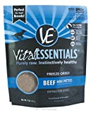 Vital Essentials freeze-dried mini tortini manzo Entrã  e per cani – 1 lb.